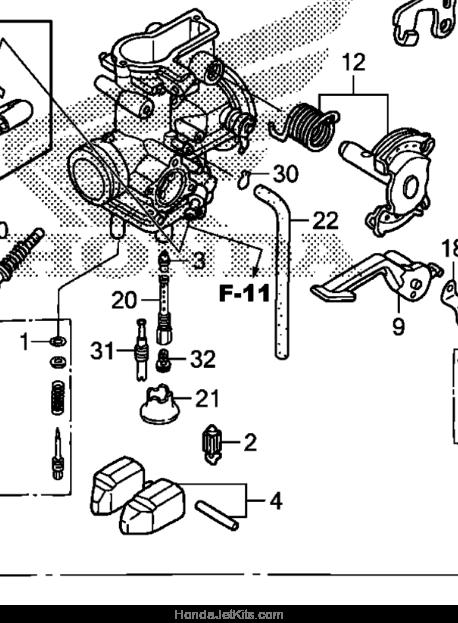 2009 Honda CRF230F Jet Kit