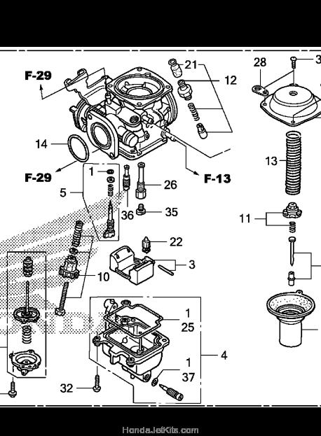 2012 Honda CMX250C Jet Kit